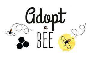 adopt a bee logo