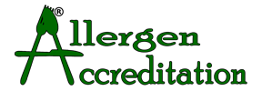 allergen accreditation logo