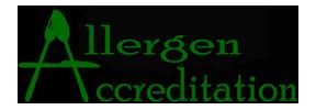 allergen accreditation logo