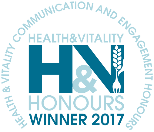 Health and vitality winner logo 2017