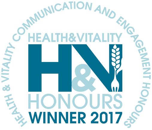 Health and vitality winner logo 2017