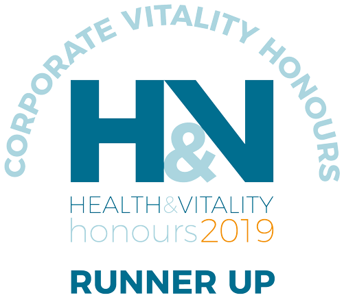 Health and vitality runner up logo 2019