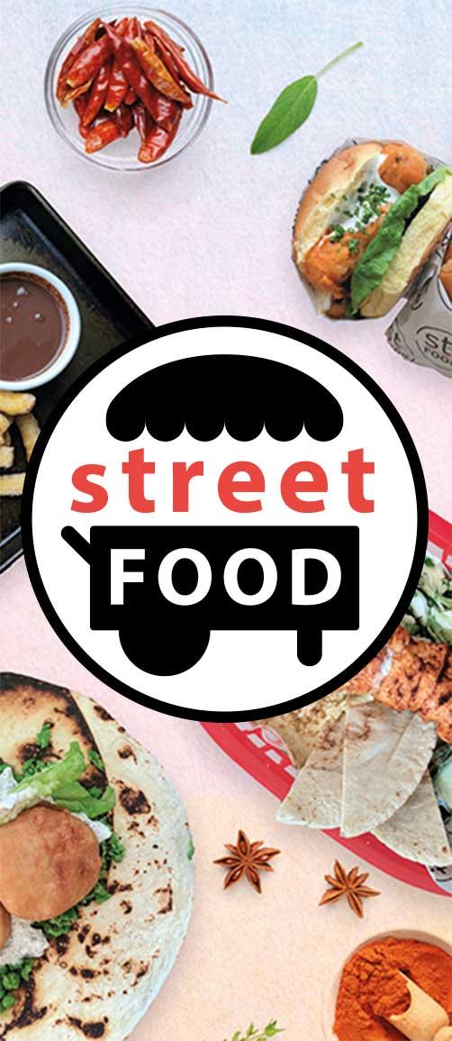 street food logo