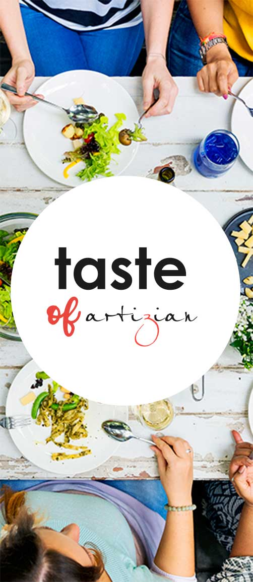 taste of artizian logo