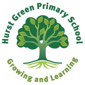 hurst green primary logo